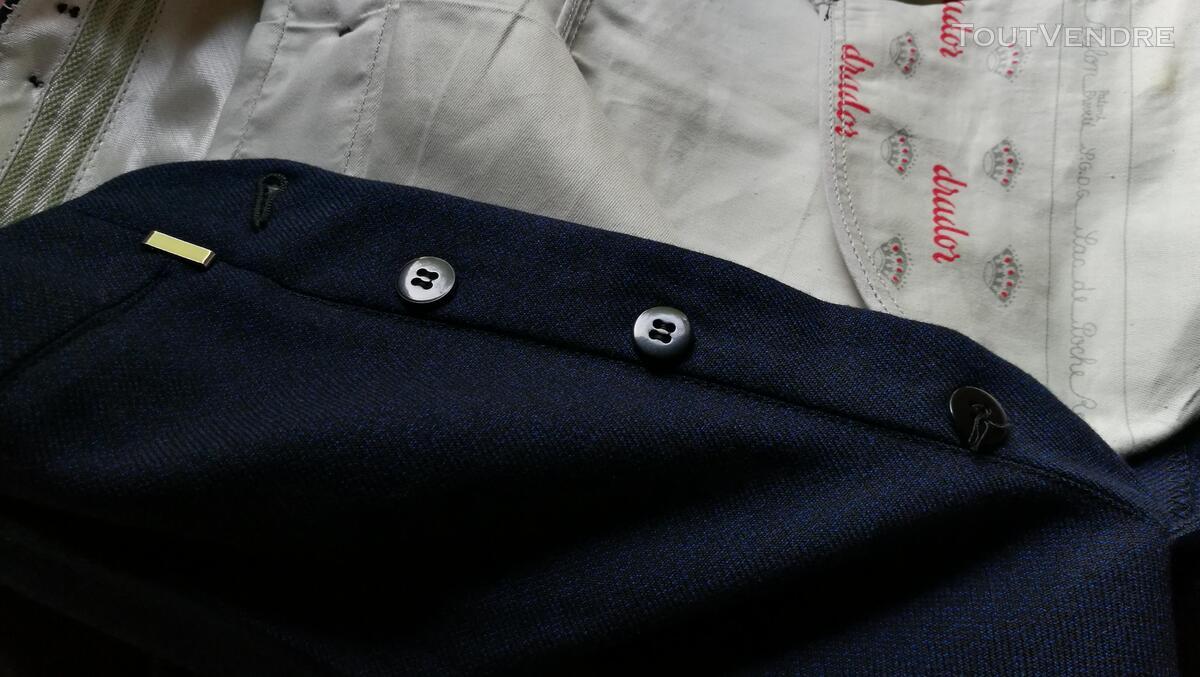 Pantalon à Plis Vintage Dandy Années 40 Excellent État 427031017