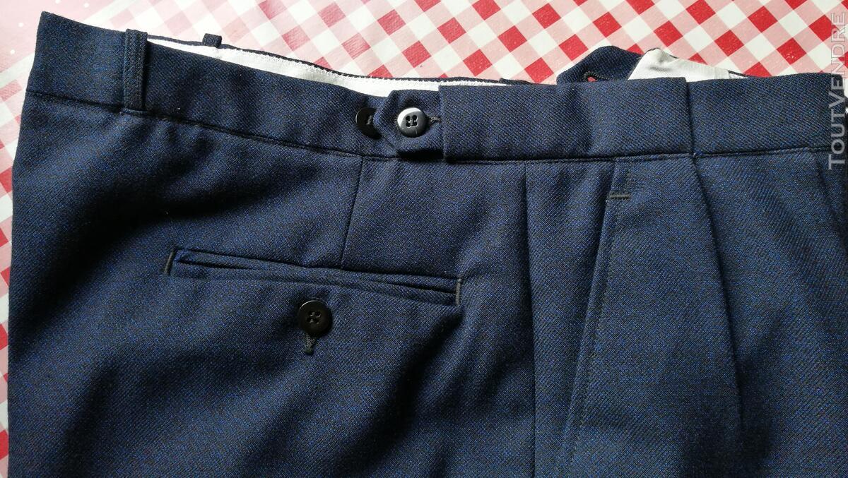 Pantalon à Plis Vintage Dandy Années 40 Excellent État 427031787