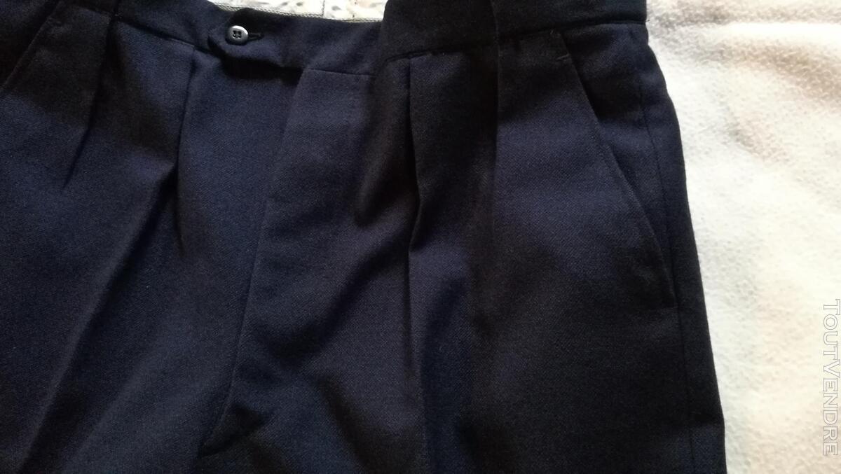 Pantalon à Plis Vintage Dandy Années 40 Excellent État 427032080