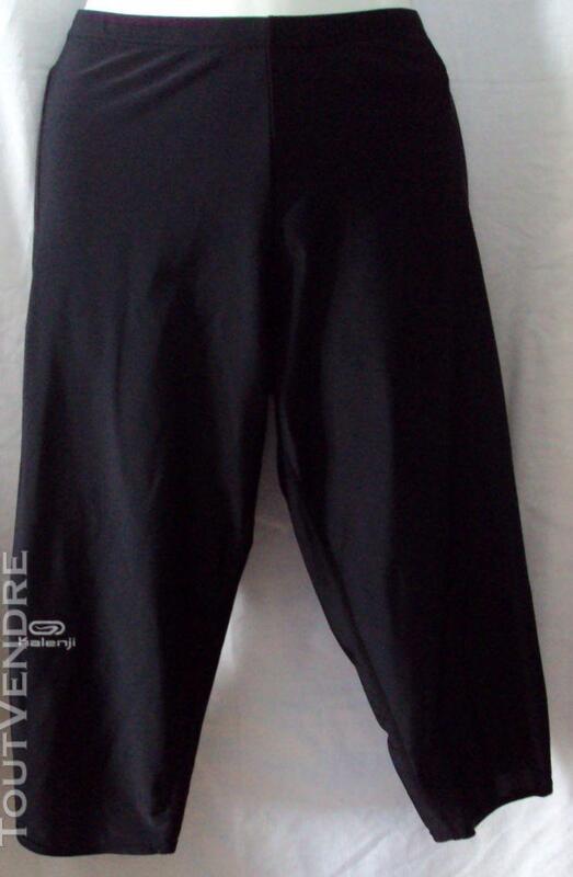 Pantalon corsaire noir KALENJI 42 254378262