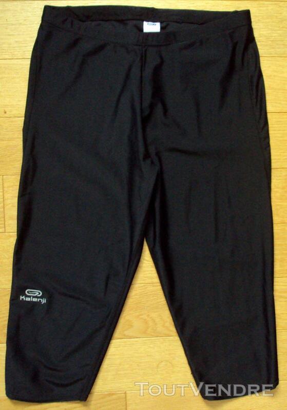 Pantalon corsaire noir KALENJI 42 254378265