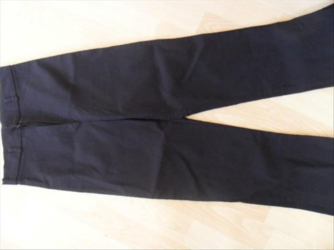 Pantalon en stretch noir Sud Express, femme ou jeune fi 88108562