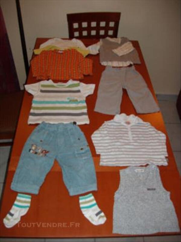 Pantalon,polo,gilet 18mois  de marqueNatalys, berlingot 84070626