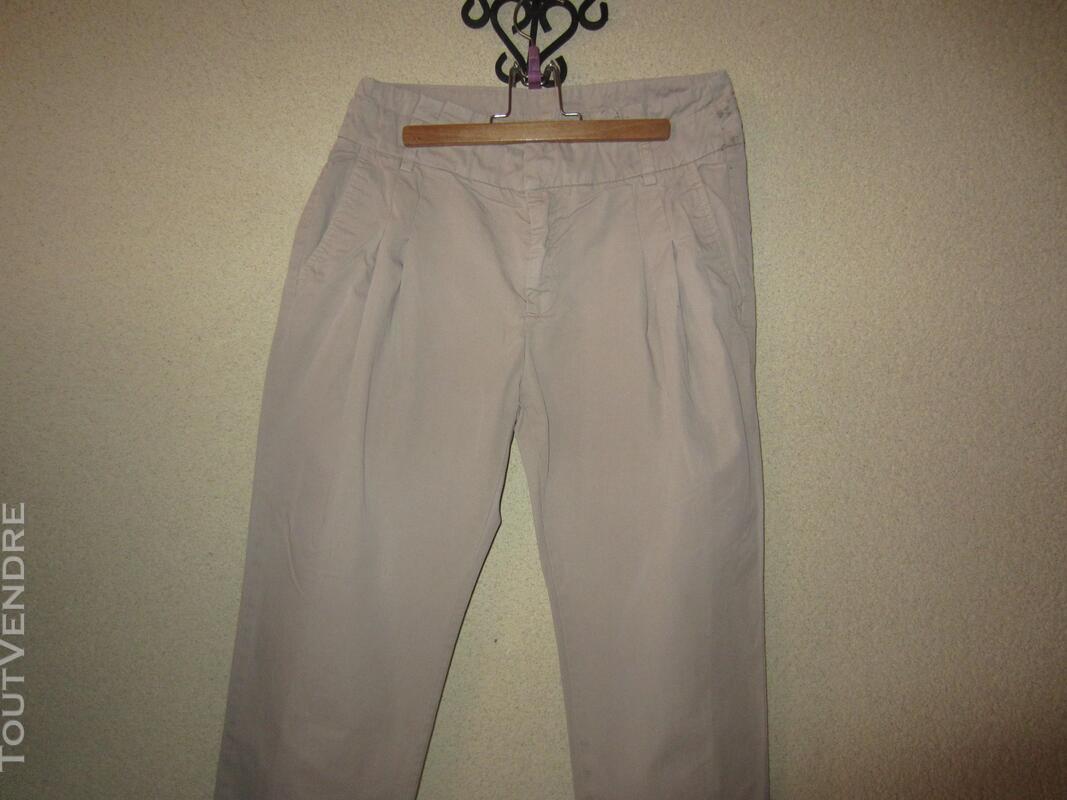 Pantalon Zara beige T 34 363170330