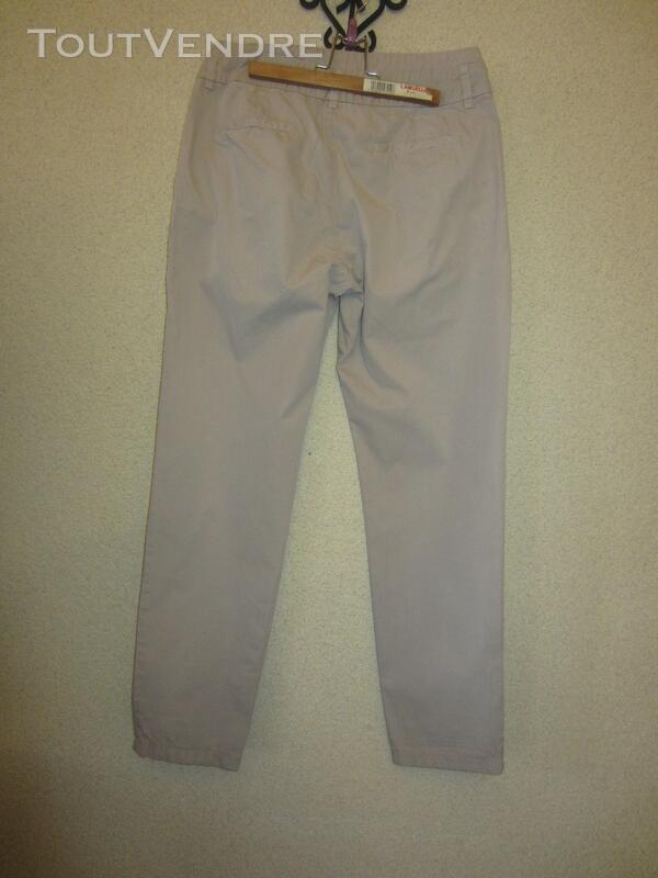 Pantalon Zara beige T 34 363170681