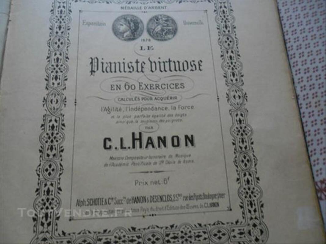 Partition piano 1878 par C-L-HANON 85974414