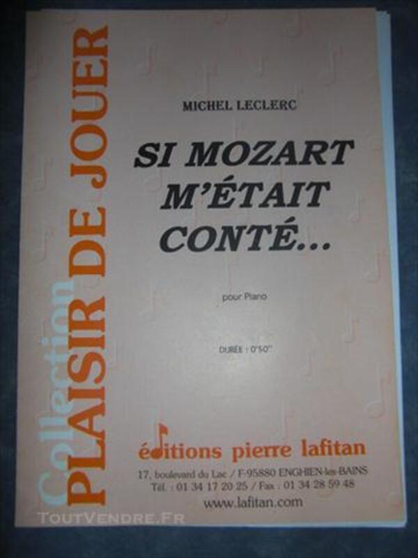 Partitions pour piano 76603694