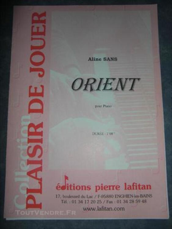 Partitions pour piano 76603695
