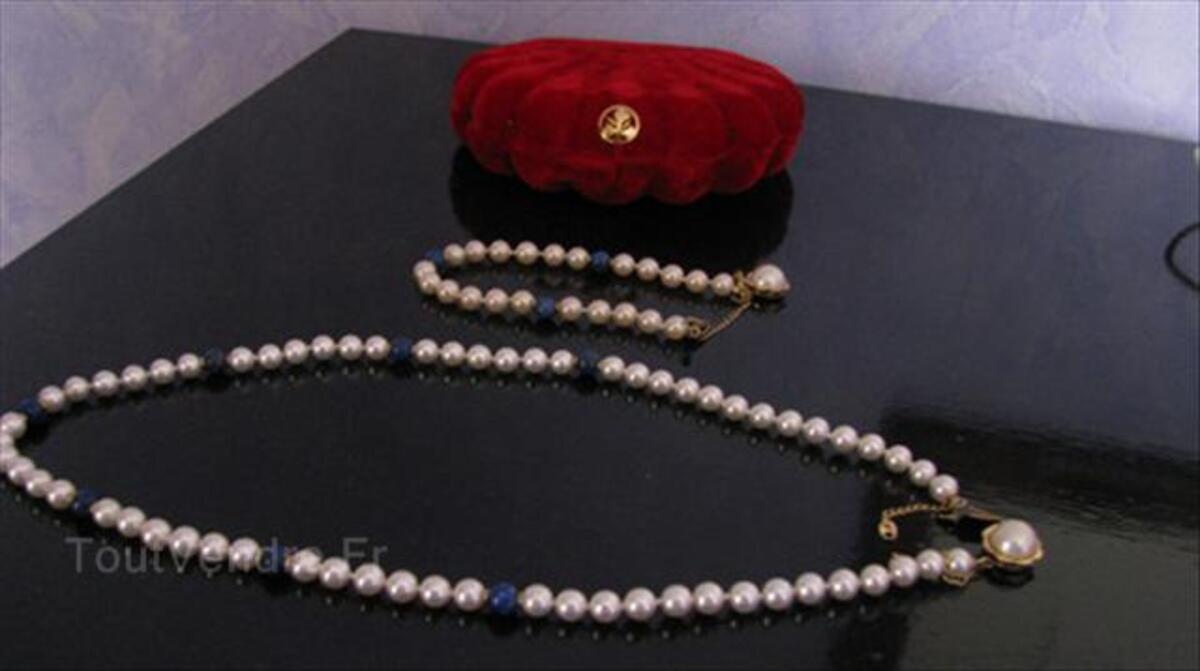 PARURE Collier & Bracelet en PERLES de MAJORQUE 56357245