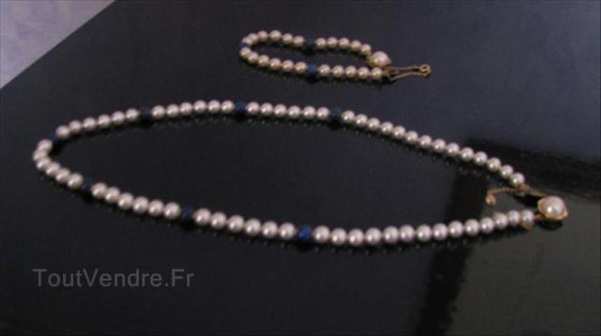PARURE Collier & Bracelet en PERLES de MAJORQUE 56357247