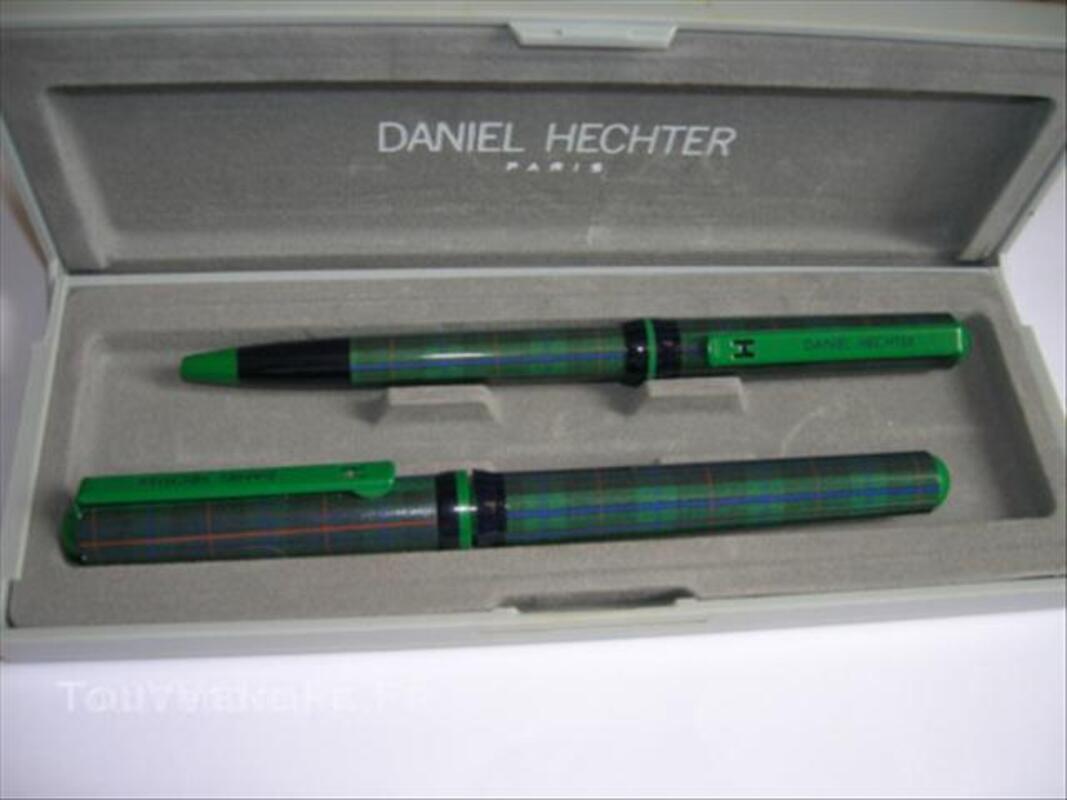 Parure Daniel Hechter, stylo bille et plume 44944599
