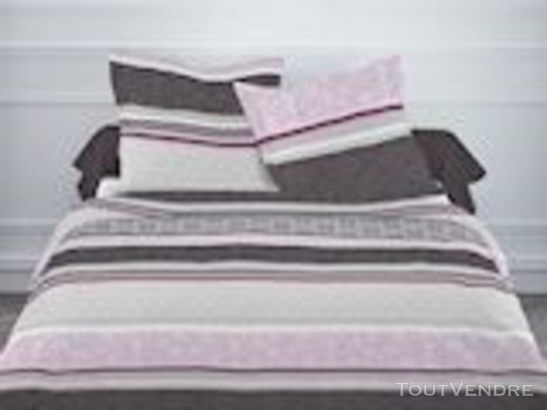 Parure de lit flanelle 2 personnes 100% coton 120551966