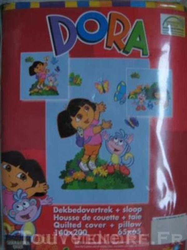 PARURE DE LIT NEUVE pour enfant DORA 2 modèles 43902381