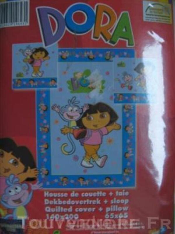 PARURE DE LIT NEUVE pour enfant DORA 2 modèles 43902382
