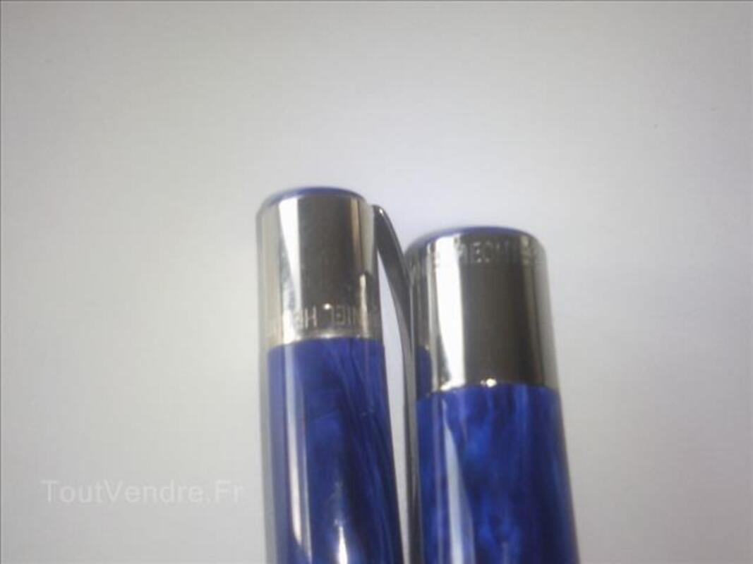 Parure de stylo plume et bille Daniel Hechter bleu 87861524