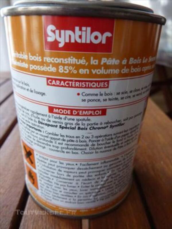 Pâte à bois Syntilor coloris pin neuve 44981060