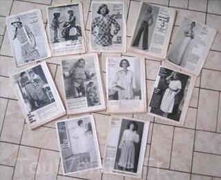 Patron de couture vintage Modes de Paris