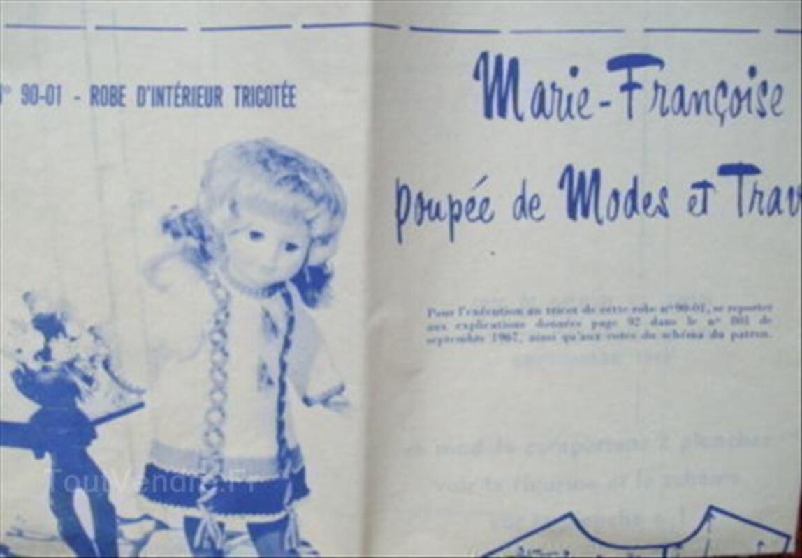 Patron poupée M  e  tT Marie Françoise  et  Michel 56174968