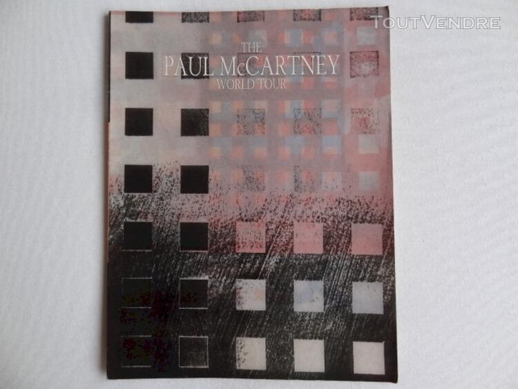 Paul McCARTNEY 1989 book : collector 112912338