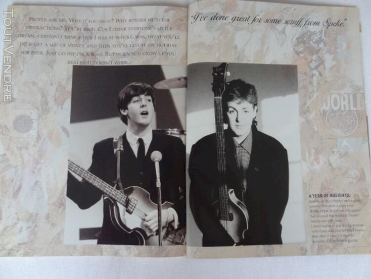 Paul McCARTNEY 1989 book : collector 112912349