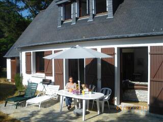 Pavillon a 300m de plage,Bretagne sud,velos,cheminee,gr.terr