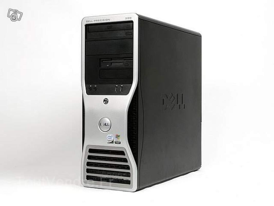Pc dell precision 390 intel core 2 duo + garantie 20118311