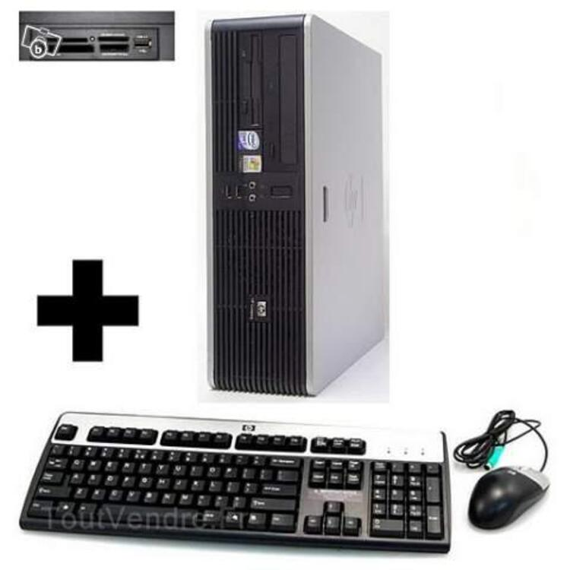 PC HP COMPAQ DC 5700SM CORE 2 DUO 1,86GHzX2 + gar 20119408