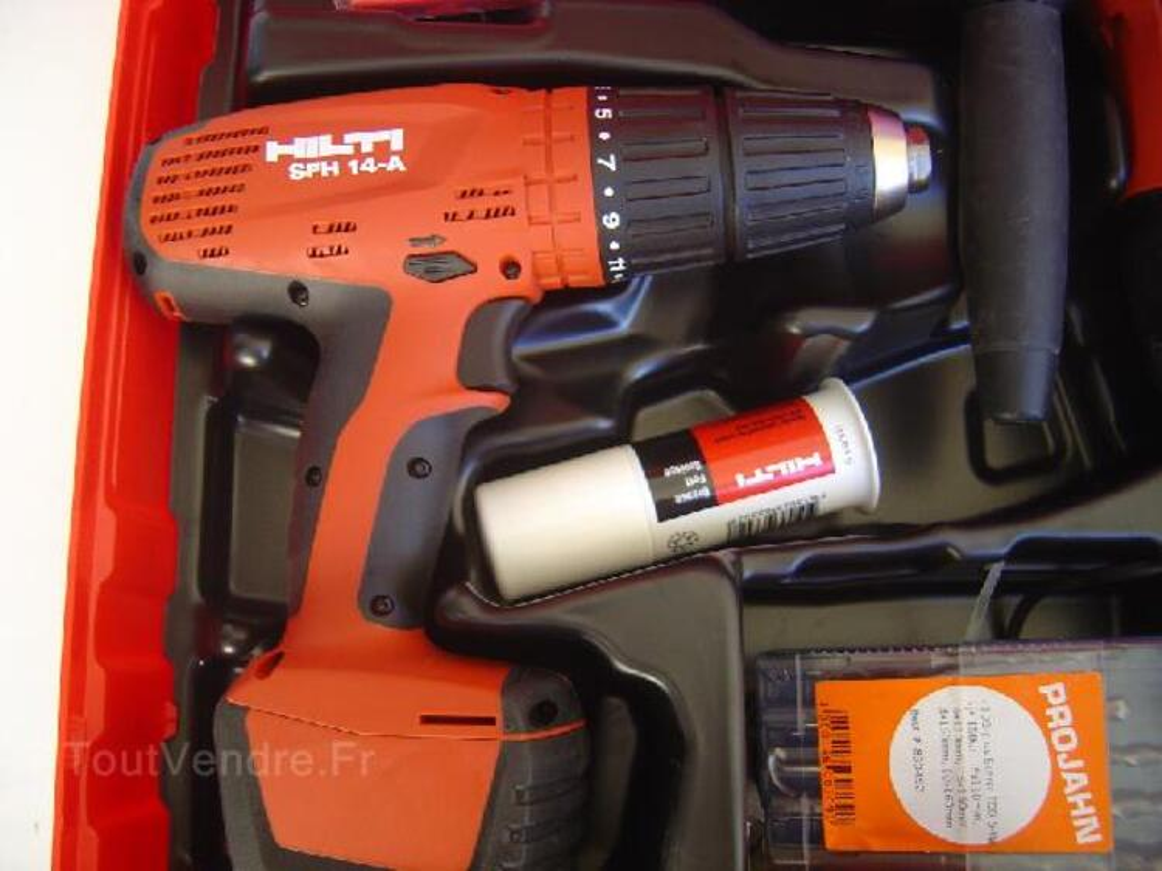 Perforateur hilti te 6 avr tool kit+ visseuse SFH 14,4 92594719