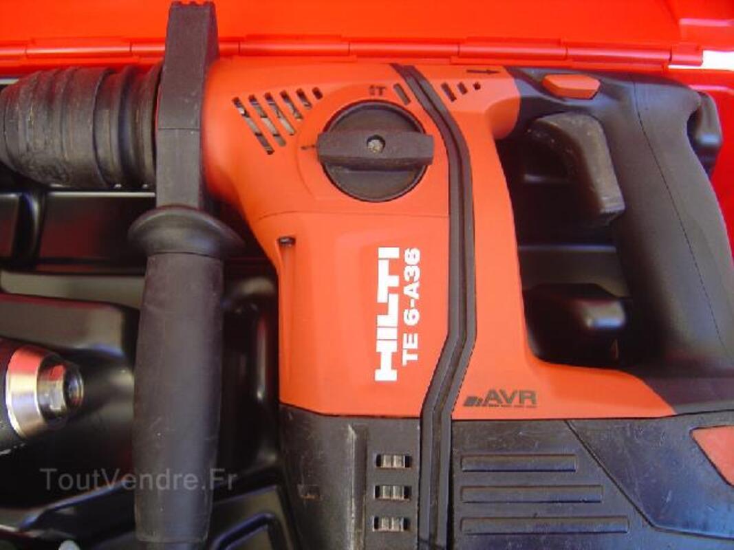 Perforateur hilti te 6 avr tool kit+ visseuse SFH 14,4 92594720