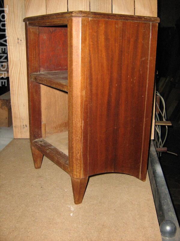 Petit meuble de chevet art déco a restaurer 50 x 30 x 30 Rép 626118767