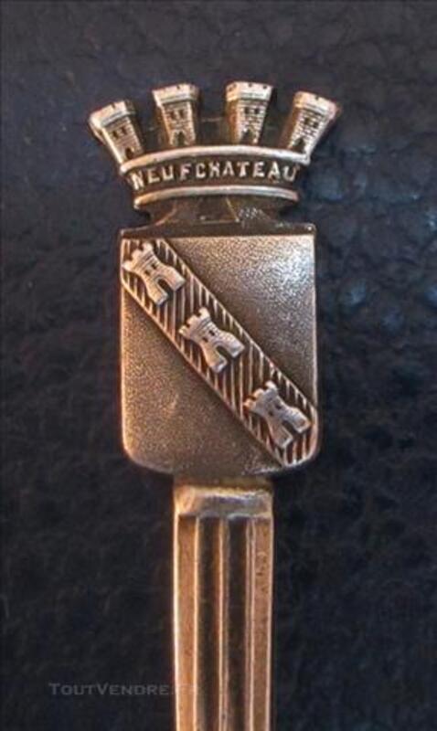 Petite cuillère de collection NEUFCHATEAU 76647728