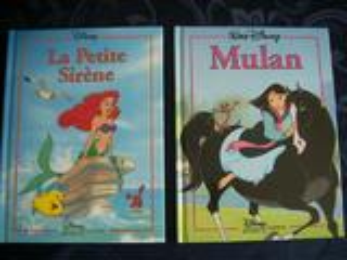 Petite sirène + Mulan DISNEY Hachette neufs / ep