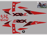 Peugeot 103 RCX  Kit déco stickers