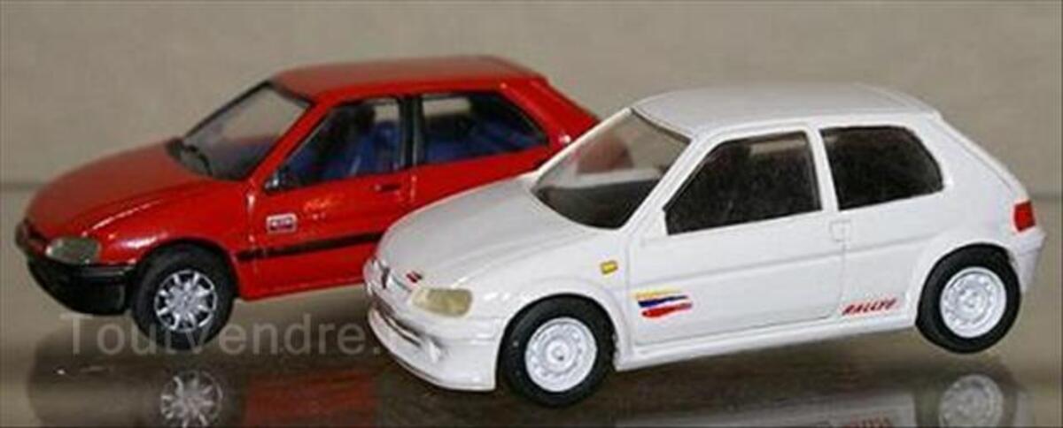 Peugeot 106 1/43 version rallye de route et kid 1/43 56074520