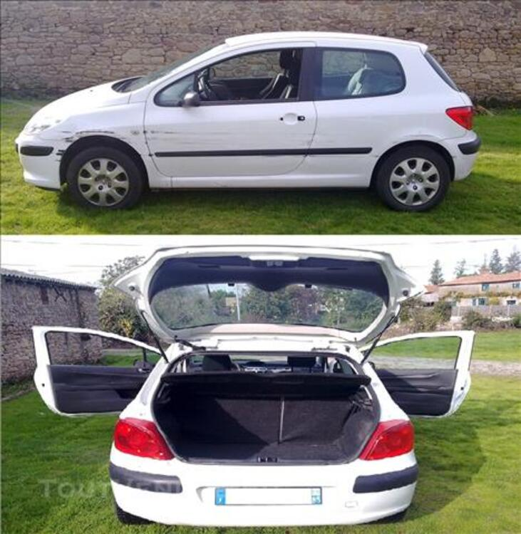 Peugeot 307 hdi 1.6l 5 places an 2007 beg 83485228
