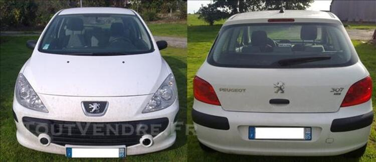 Peugeot 307 hdi 1.6l 5 places an 2007 beg 83485230