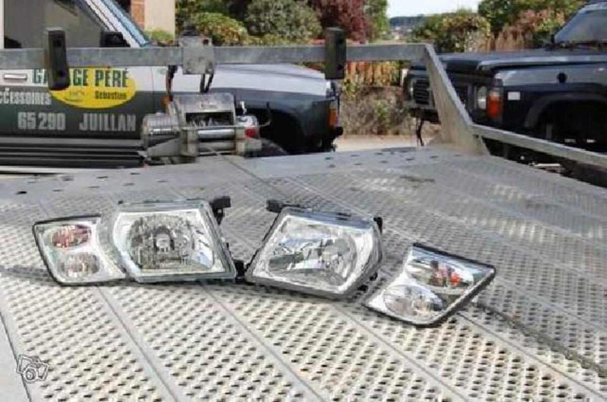 Phares av et clignoteurs verre lisse pour patrol gr y61 92249332