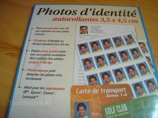 Photos d'identité autocollantes Micro Application