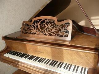 Piano ancien demi-queue Gaveau