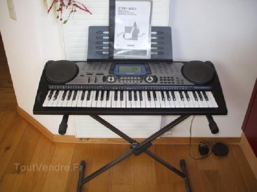 PIANO CASIO CTK 651 TRES PEU SERVI A SAISIR 90800264