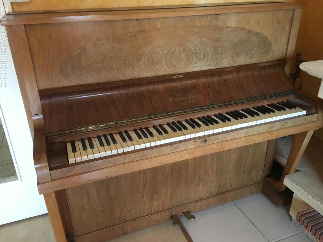 Piano droit Henri Herz état impeccable 154017853