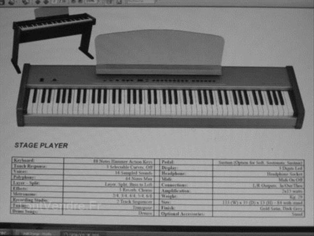 Piano portable 88 notes ORLA  neuf promo!!!!! 87530142