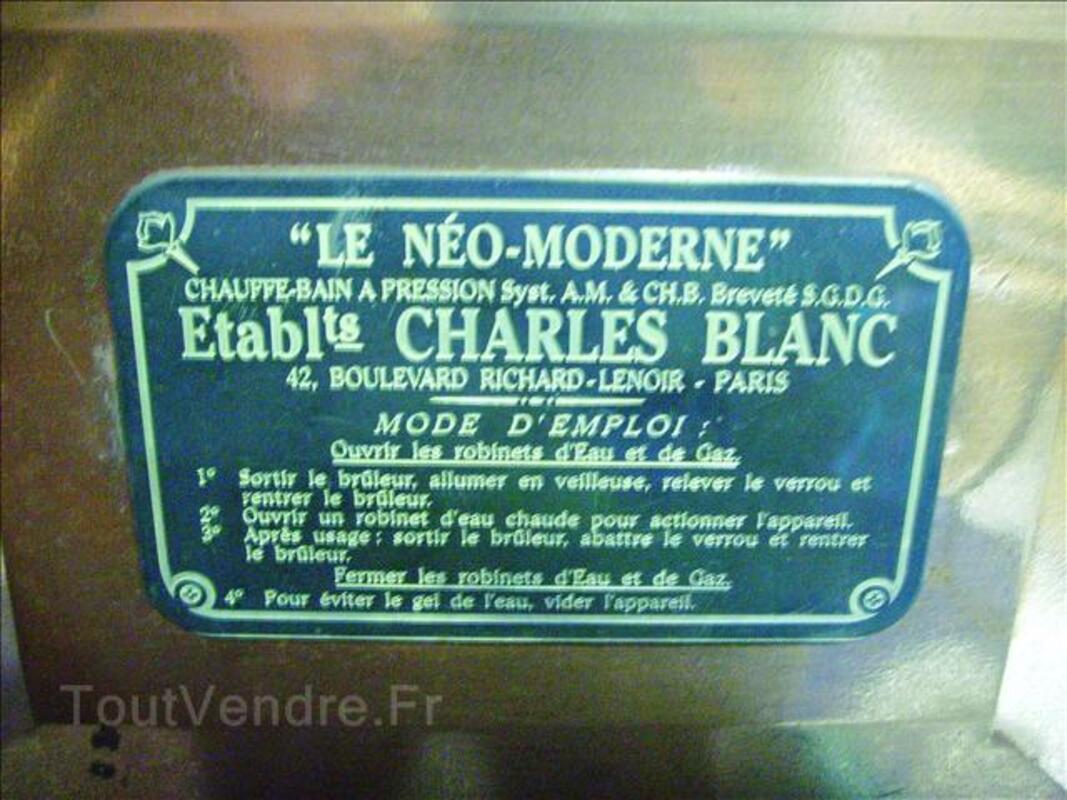 PIECE TRES RARE & NEUVE :  Chauffe bain LE NEO MODERNE 68948629