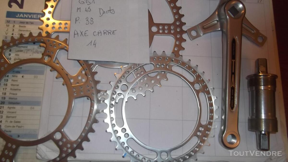 Pièces de vélo pédalier manette déraille freins shimano 614712073