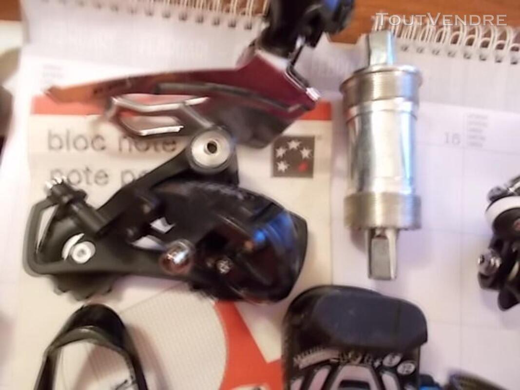 Pièces de vélo pédalier manette déraille freins shimano 614712079
