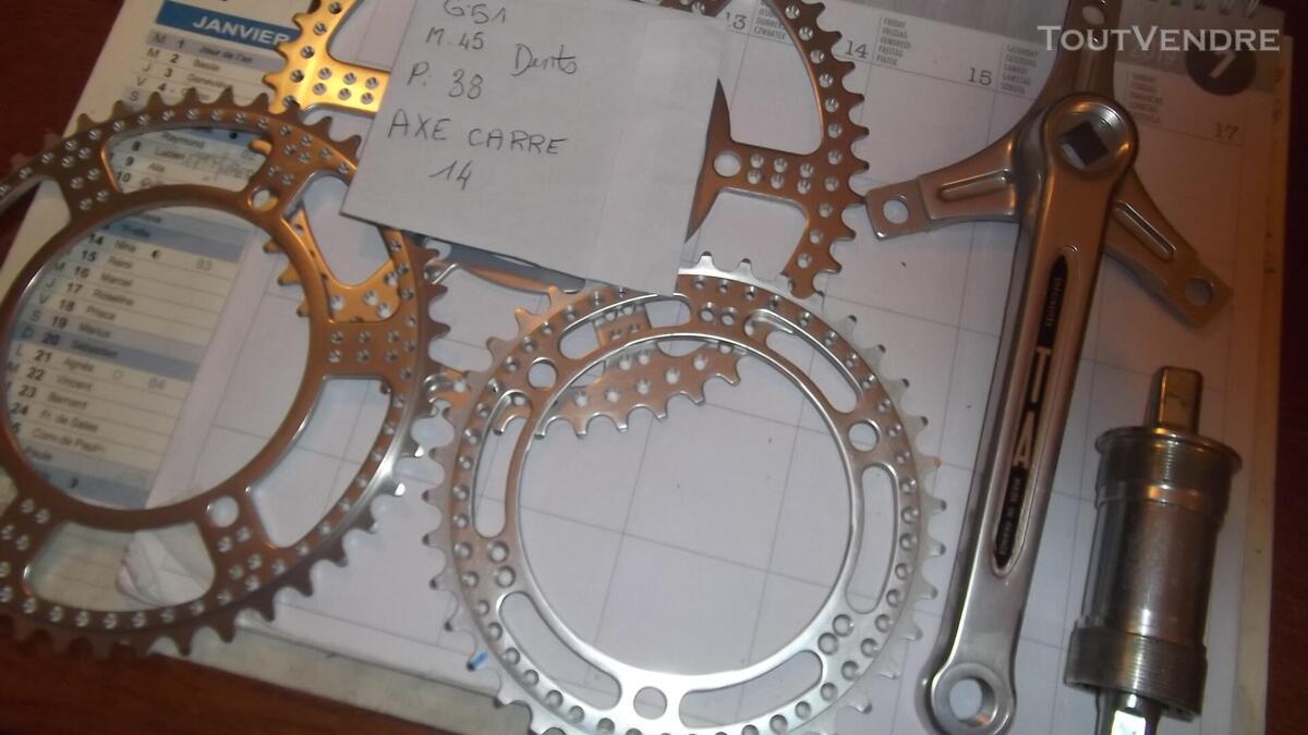 Pièces de vélo pédalier manette déraille freins shimano 614712085
