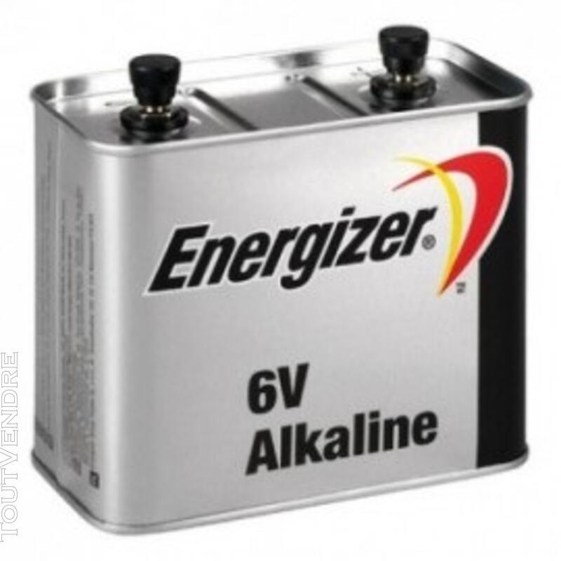 Pile Alcaline 6v 4LR25 2 Metal Energizer 133707416