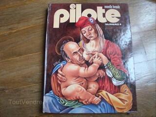 PILOTE, album NUMERO 4 nouvelle formule 1976 TBE+