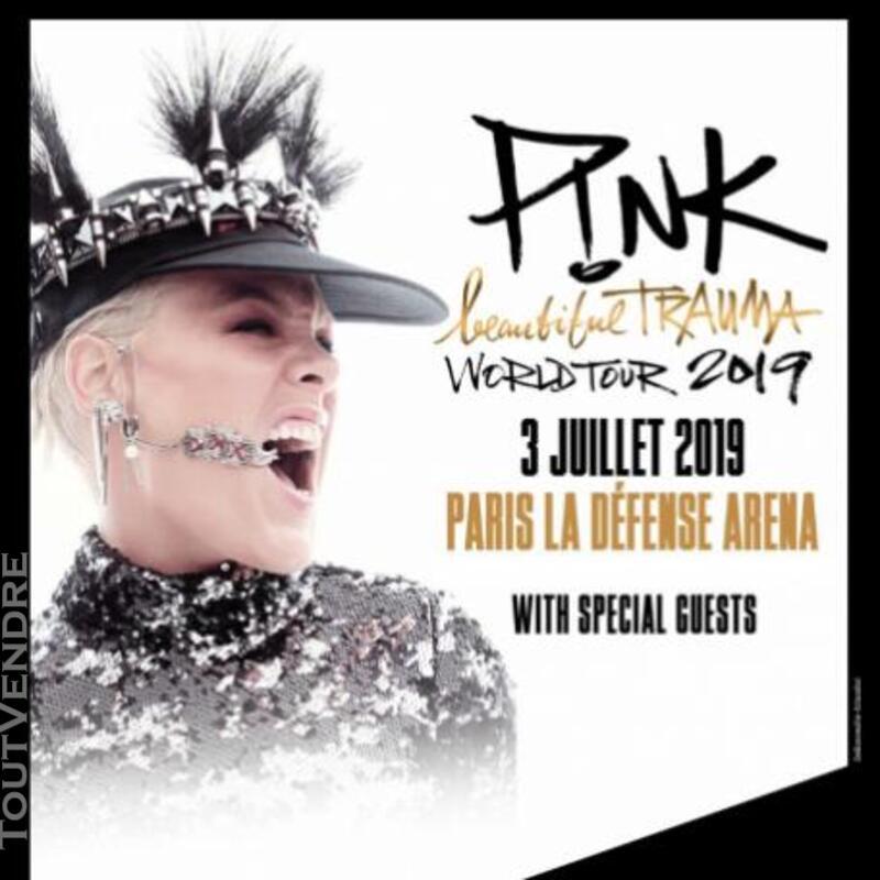 PINK PARIS LA DEFENSE ARENA 03/07/19 497690296