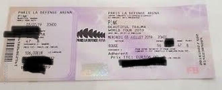 PINK PARIS LA DEFENSE ARENA 03/07/19 497690299